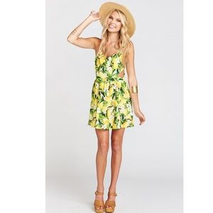 Show Me Your Mumu Lemon Piper Dress Sz M